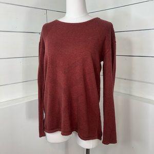 Prana Dark Mauve Cotton Sweater
